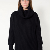 American Apparel - Unisex Oversized Fisherman Turtleneck Sweater