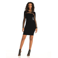 Nicki Minaj Lattice Detail Body Con Dress