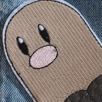 Pokémon Iron On Patch - Diglett