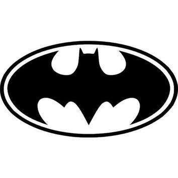 Batman SUPERHERO Dark Knight DC Comics Vinyl Sticker Decal Car WINDOW Wall Art Decor