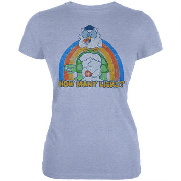 Tootsie Roll - How Many Licks Juniors T-Shirt