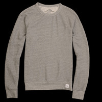 UNIONMADE - Save Khaki - French Terry Sweat Shirt in Grey Heather