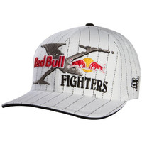 Fox Racing Red Bull X-Fighters Core Flexfit Hat - X-Small/Small/White
