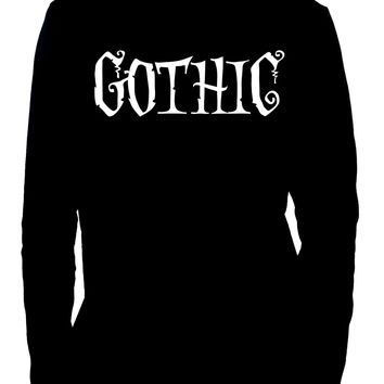 Gothic Way of Life Long Sleeve Shirt Strange Unusual Spooky Creepy Dark Alternative Clothing