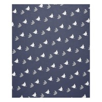 Cute Stingrays Fleece Blanket