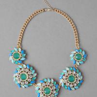 HUDDLESTON JEWELED NECKLACE