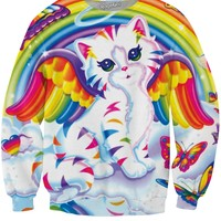 Angel Kitty Crewneck Sweatshirt