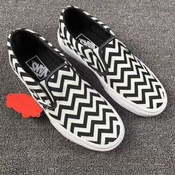 LMFONS Vans Classics Slip-On Fashion Sneakers Sport Shoes