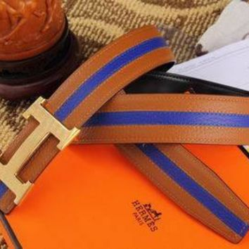 Hermes strip belt