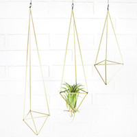 Brass Himmeli Decor - One point | Midwinter Co.