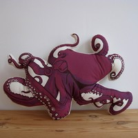 Octopus Pillow | BRIKA - A Well-Crafted Life