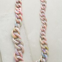 Pono Malha Link Necklace in Purple Motif Size: One Size Necklaces