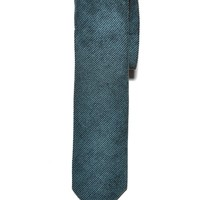 Green Corduroy Cotton Tie