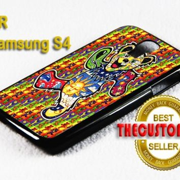 The Grateful Dead Dancing - For Samsung Galaxy S4 Black Case Cover