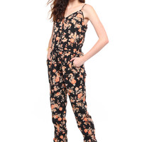 BB Dakota Jaylynn Floral Jumpsuit