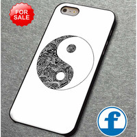Tribal Yin and Yang for iphone, ipod, samsung galaxy, HTC and Nexus Phone Case