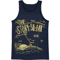 Story So Far Men's  Mt. Diablo Mens Tank Blue