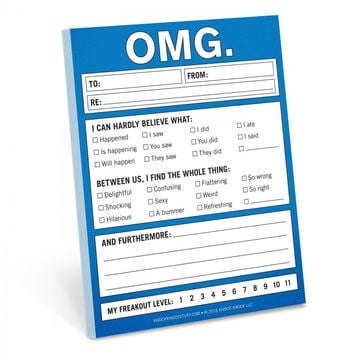 OMG Nifty Notepad