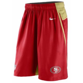 San Francisco 49ers Nike NFL Dri-Fit Fly Shorts NWT SF Niners New with Tags