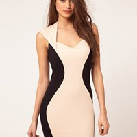 Lipsy Hour Glass Panel Dress