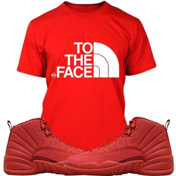 Jordan Retro 12 Gym Red Sneaker Tees Shirts - TO THE FACE PG