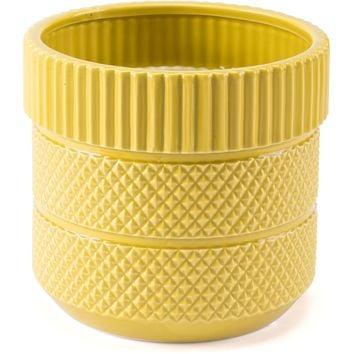 Yellow Inca Planter