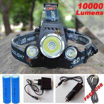 Headlamp Light for Fishing, Camping, Hiking, Caving...COOL & USEFUL!