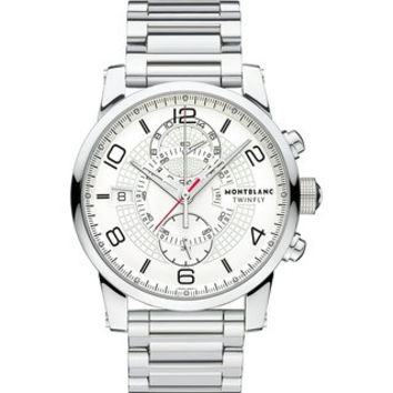 Montblanc TimeWalker TwinFly Chronograph Steel Men's Watch 109133