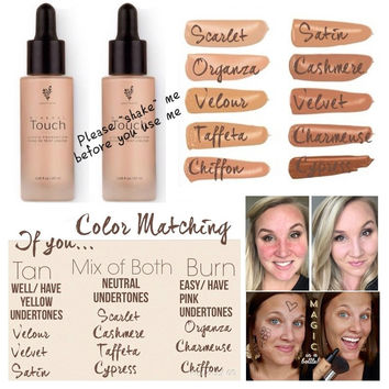 Younique Touch Mineral Liquid Foundation - 10 colours
