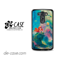 The Little Mermaid Painting For LG G3 Case Phone Case Gift Present YO