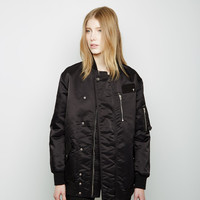Nylon Bomber Jacket by T by Alexander Wang