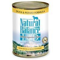 Natural Balance Limited Ingredient Diets Duck & Potato Canned Dog Food 12-13 oz.