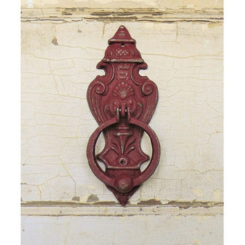 Door Knocker,Vintage Inspired Door Knocker,French Country Door Knocker,Housewarming Gift,Front Door Decor,Cast Iron Door Knocker