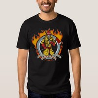 Fire Fighters Fear No Fire T Shirt