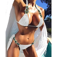 2018 Sexy Diamond Bikini Swimsuit