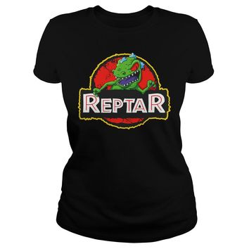 Reptar Rugrats shirt Premium Fitted Ladies Tee