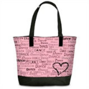 Danshuz B425 Dance Is In My Heart Tote