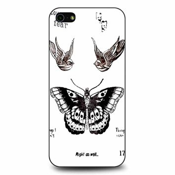 Tattoo Harry Style One Direction iPhone 5/5s/SE Case