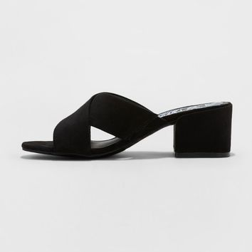 Women's dv Cross Mule Heels