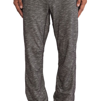 Burkman Bros. Cozy Athletic Pant in Charcoal