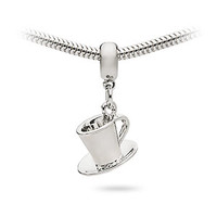 Cup with Saucer Charm Bead - Exclusive