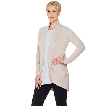 Barefoot Dreams Cozychic Lite Circle Cardi with Pockets — QVC.com
