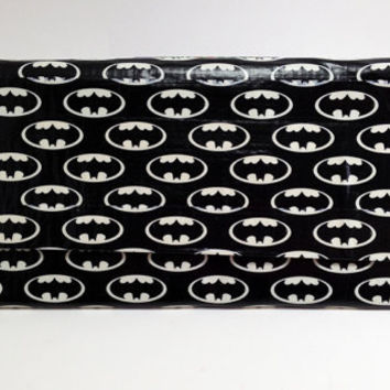 Batman GLOW Duct Tape Clutch Women's Wallet Purse Glow in the Dark