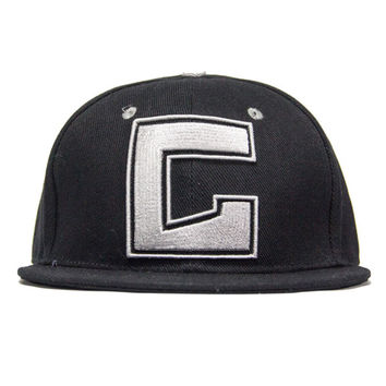 Gramatik Black Fitted Grassroots Hat