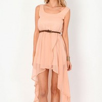 Missguided - Ileana Sheer Asymmetric Maxi Dress