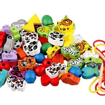 Mixed Kids Beads for Children's DIY Bracelets Colorful Accessories