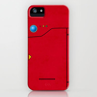 Dexter the Pokedex - Minimalism Pokemon Poster iPhone Case by Jorden Tually Art
