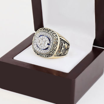 Chicago Bears Super Bowl Football Championship Replica Ring 1985