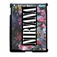 Nirvana Logo Floral Flower Design iPad 3 Case