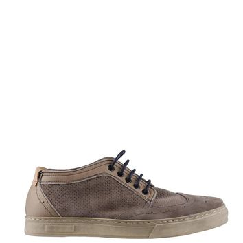 """Men's Brown """"Made in Italia GIOELE"""" Lace Up Athletic Shoes High Tops"""